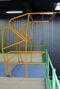 Barrière écluse en acier - Plancher en acier
