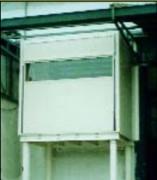 Barrière-écluse étanche - Pour la protection permanente des courants d'air