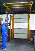 Barrière-écluse pour charge de grande hauteur - Adaptée à des plafonds bas