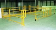 Barrière-écluse pour des surfaces importantes - Sécurité des plates-formes et mezzanines