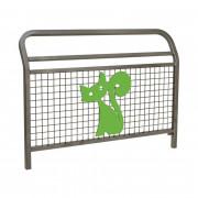 Barrière d'école grillagée - 2 Longueurs disponibles : 1000 - 1500 mm