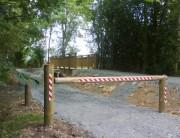 Barriere en bois - En pin Sylvestre Classe IV ou chêne ou châtaignier