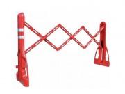 Barrière extensible de chantier - Longuer (m) : 2,25