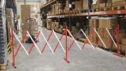 Barrière extensible roulante - Extensibilité : 3.20 m