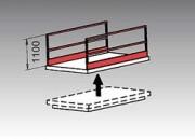 Barrière latérale de sécurité pour table élévatrice - Barrière de sécurité