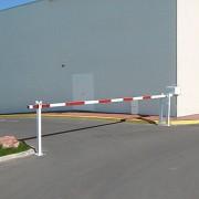 Barrière levante 6.40 mètres - Largeurs de voies : de 3.05 à 6.40 mètres