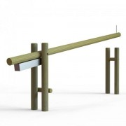 Barrière levante en bois - Passage utile 3000 ou 4000mm