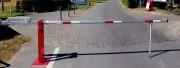 Barrière levante par contrepoids - Largeur passage de 3000mm à 7000mm