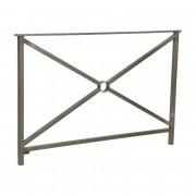 Barrière main courante en acier - Longueurs disponibles : 800 - 1500 mm