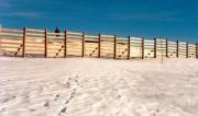 Barrière neige bois