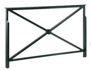 Barrière piétonne de sécurité 0.84 à 1.64 mètre - Longueur (m) : 0.84 - 1.64