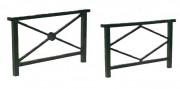 Barrière piétonne de sécurité 1 mètre - Longueur (m) : 1