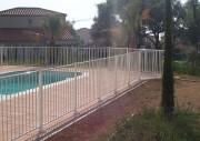 Barriere piscine aluminium