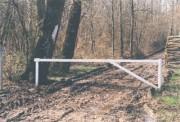 Barrière pivotante 4000 mm - Longueur (mm) : 4000