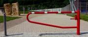 Barrière pivotante manuelle - Largeur de passage : De 1.5 à 3.5 mètres