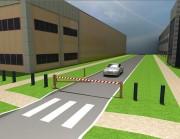 Barrière pivotante Manuelle - Manuelle - Protection d'accès parking ou autre