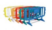 Barrière de chantier plastique - Longueur : 1260 ou 1980 mm