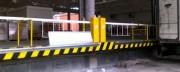 Barrière pour quai pivotante - Améliore la sécurité des personnels