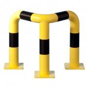 Barrière protection d'angle industrie - Deux hauteurs : 60 cm ou 120cm
