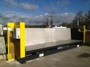 Barrière sécurité déchetterie - Système vidage sécurisé pour GRAVATS