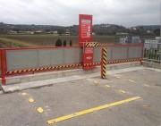 Barrière sécurité quais camion benne - Spécialement réservée aux camions bennes