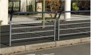 Barrière urbaine grillagée 1500 mm - 2 Longueurs disponibles (mm) : 1000 - 1500