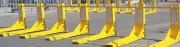 Barrières anti véhicule bélier amovible - S'installe en 5 minutes