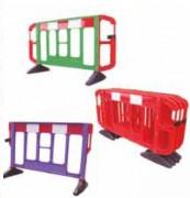 Barrières de chantier plastique - Longueur disponible en m : 1.5 - 2