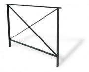 Barrières de sécurité 1500 x 50 mm - Encombrement (mm) : 1500 x 50