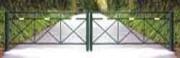Barrières doubles acier - Largeur jusqu'à 12 m