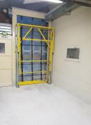 Barrières écluses de protection palettes - Barièrre spécialement conçus pour manutention