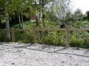Barrieres en bois - Poteau rond Ø14cm