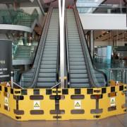 Barrières pour la maintenance générale - Fabriquées en polyéthylène rotomoulé
