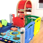 Barrières pour la petite enfance - Plastique recyclable en polyéthylène