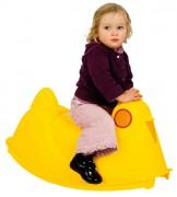 Bascule pour enfants en plastique - Dimensions hors tout (L x l x H) cm : 79 x 40,5 x 76,5