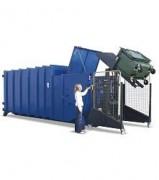 Basculeur de conteneur à dechets - Hauteur de basculement 1600 - 2000 mm