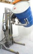 Basculeur de fût électrique - Types de charges : Bobines - bacs - seaux - bidons - cartons - cuves - fûts