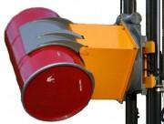 Basculeur de fûts capacité 600 kg - Dimensions : L 1100 x l 630 x H 550 mm