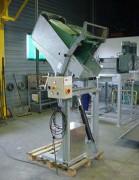 Basculeur retourneur de conteneur et caisse palette pour hôpital - Charge maximale : 300 kg