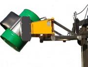 Basculeur retourneur de fûts hydraulique - Longueur mm : 1840 - Largeur mm : 1100
