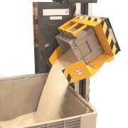 Basculeur retourneur videur de caisse MER - Permet de retourner et de vider complètement vos caisses