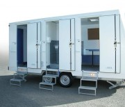 Base de vie pour chantier - Ensemble homologué CEE  Convertisseur 12/24V monté en série