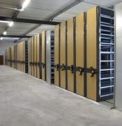 Base mobile pour rayonnage FLIP  - Rayonnage léger pour bureaux