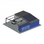 Bâtiment containers aménagés - Un concept 100% modulaire