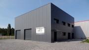 Bâtiment cubique modulaire de vente - Portée de 6 à 20 m