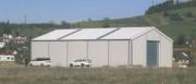 Bâtiment de stockage aluminium - Largeur  (m) : de 10 à 30