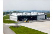 Bâtiment hangar en métallo-textile - Etude et conception sur mesure hangars et bâtiments métallo-textiles