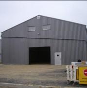 Bâtiment industriel de stockage - Résistance neige et vent