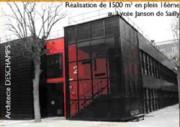 Bâtiment lycée - Bâtiment modulaire