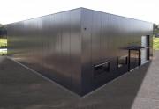 Batiment métallique cubique - Une portée de 6 à 20 m